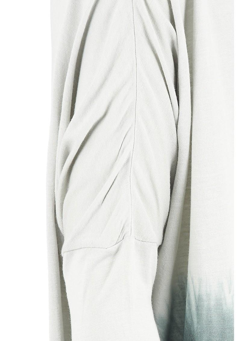 Pyrus Paddy Tie Dye Long Sleeved Tee - Slate main image