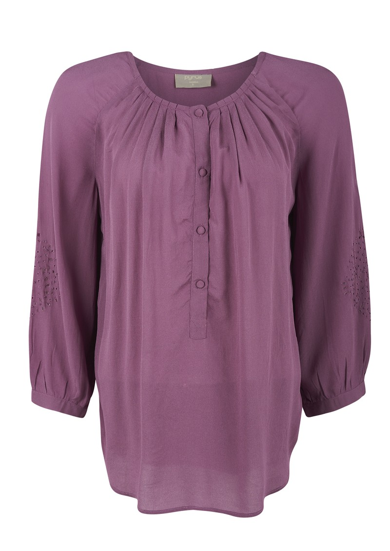Hide Cut Out Blouse - Sorbet  main image