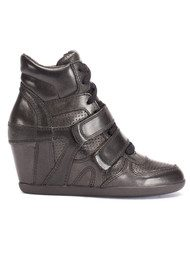 Ash Bea Wedge Trainers - Vintage Metal