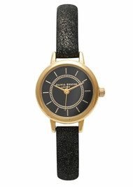 Colour Crush Watch - Gold & Black Sparkle