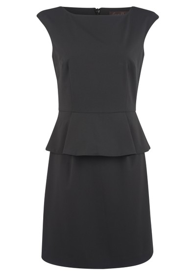 Great Plains Max Suiting Dress - Black main image