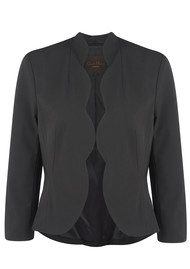 Great Plains Max Suiting Scallop Jacket - Black