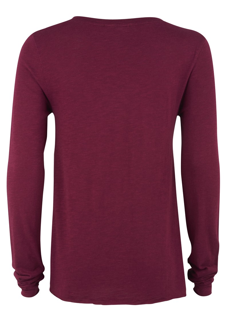 Jacksonville Long Sleeve Tee - Plum main image