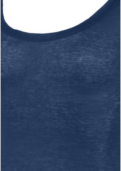 American Vintage Massachusetts Long Sleeve Tee - Peacock Blue main image