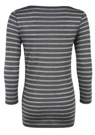 Day Birger et Mikkelsen  Striped Layering Tee - Shadow