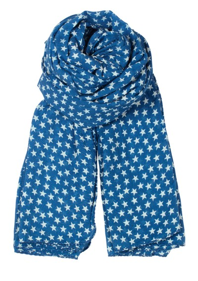Becksondergaard Summer Star Scarf - Persian Blue main image