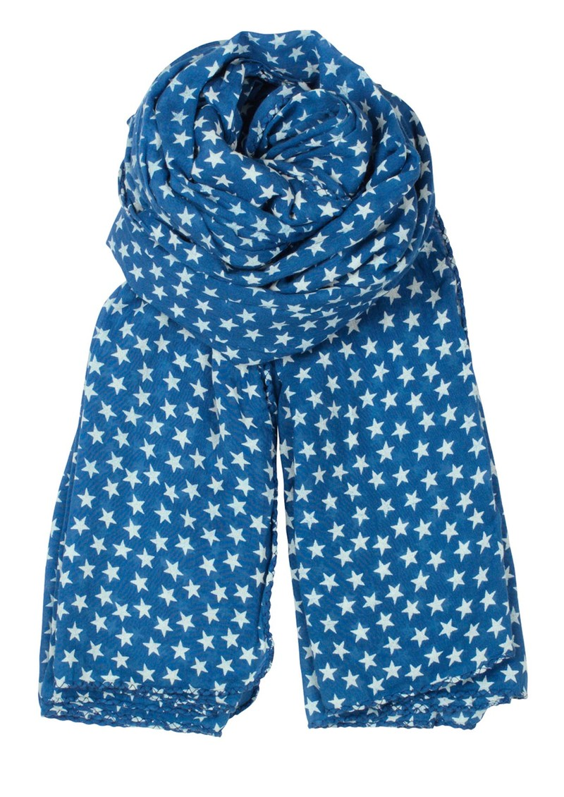 Summer Star Scarf - Persian Blue main image