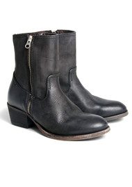 H By Hudson Riley Ankle Boots - Black