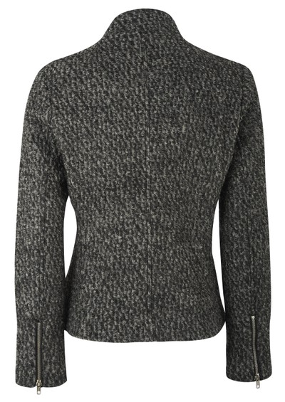 Maison Scotch Boucle Knit Jacket - Black & Grey main image