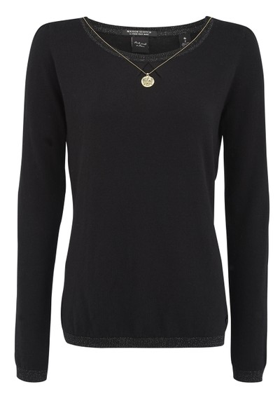 Maison Scotch Crew Neck Sweat - Black main image