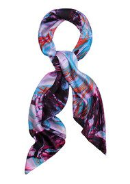 Weston Scarves Micro Crystal Silk Scarf - Crystal