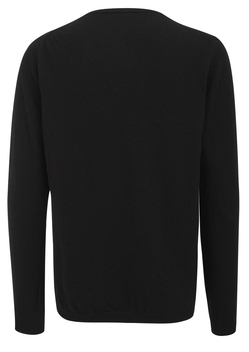 TEXTILE REBELS Wolf Jumper - Black main image