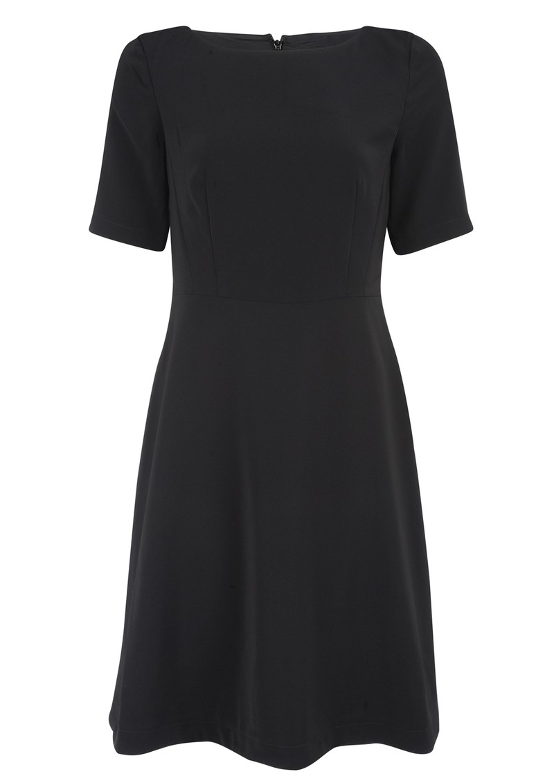 Tessa Short Sleeve Dress - Black main image