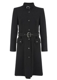 Great Plains Palace Buckled Coat - Black