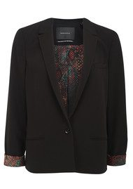 Maison Scotch Relaxed Blazer - Black
