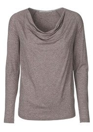 Day Birger et Mikkelsen  Refine Slouchy Top - Grey Melange