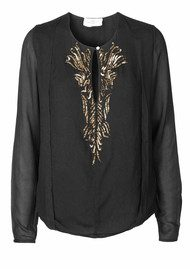 Day Birger et Mikkelsen  Tinsel Top - Black