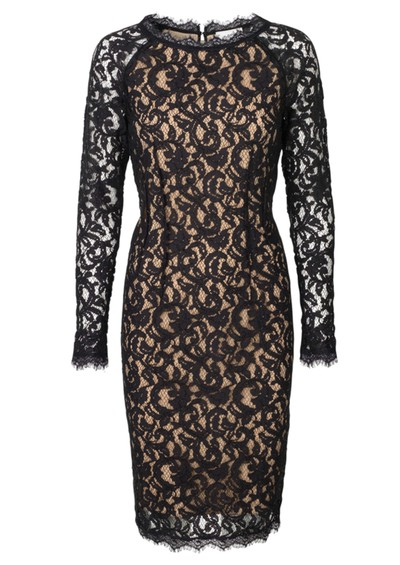 Day Birger et Mikkelsen  Gentle Lace Dress - Pirate Black main image