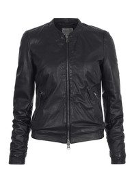 Muubaa Naniwa Leather Jacket - Black