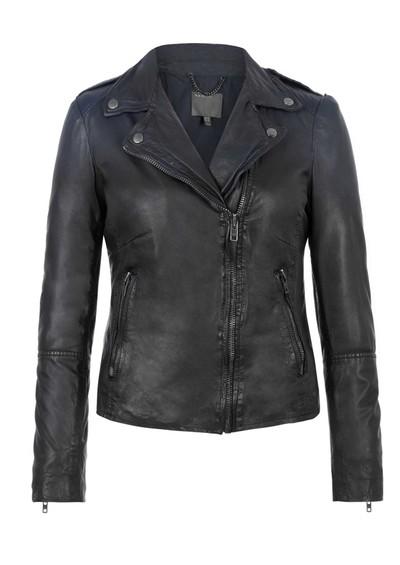Muubaa Salazar Ombre Leather Jacket - Indigo main image