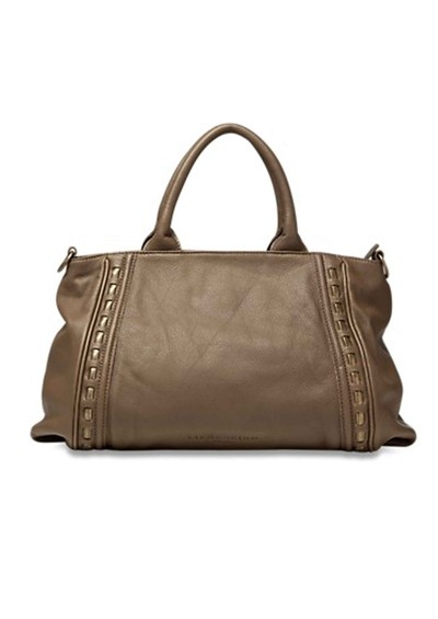 Liebeskind Tonya Metal Rope Leather Handbag  - Truffle main image