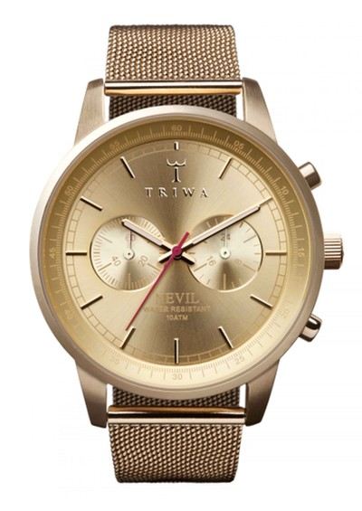 Triwa Nevil Gold Watch - Gold main image