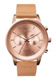 Nevil Rose Tan Watch - Rose Tan