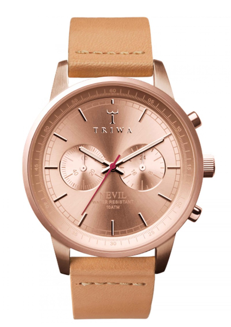 Triwa Nevil Rose Tan Watch - Rose Tan main image