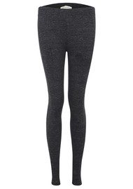 American Vintage Digby Wool Mix Leggings - Charcoal Melange