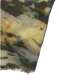 Lily and Lionel Amazon Silk & Wool Mix Scarf - Rainforest