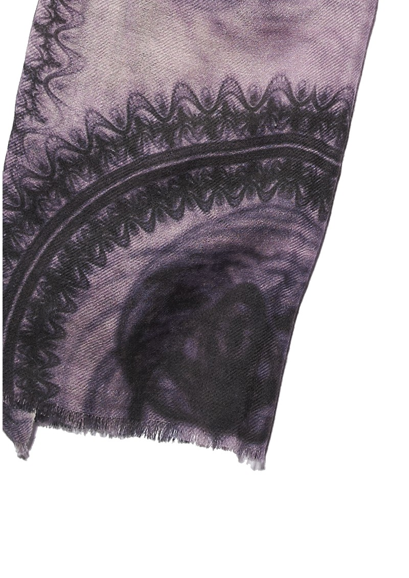 LaceT Silk & Wool Mix Scarf - Lavender main image