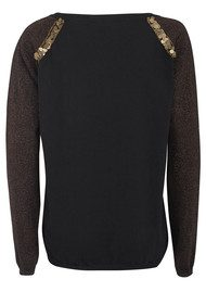 Special Embroidered  Knit - Black