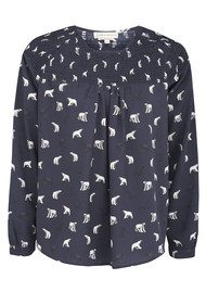 Paul & Joe Sister Polar Print Blouse - Marine