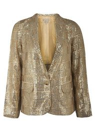Paul & Joe Sister Glitter Jacket - Gold