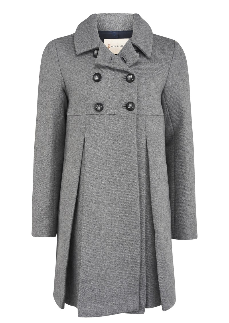 Paul and Joe Sister Baltazar Coat - Grey main image