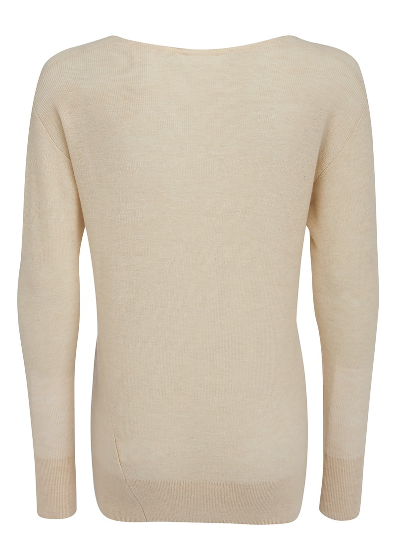 Magnolia Wool and Cashmere Mix Jumper - Ivory main image