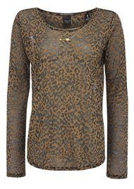 Maison Scotch Dessin Burnout Top - Dune