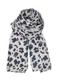 Becksondergaard Blurred Leo Scarf - Rich Blue