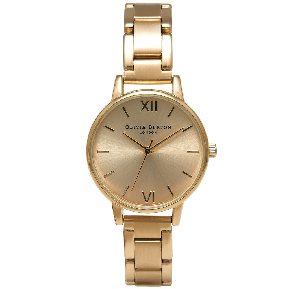 Midi Dial Bracelet Watch - Gold