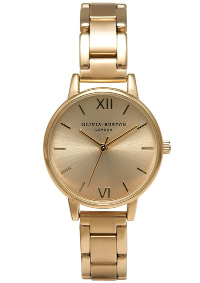 Olivia Burton Medium Dial Bracelet Watch - Gold main image