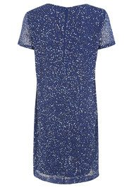 Great Plains Stardust Embellished Dress - Electric Blue