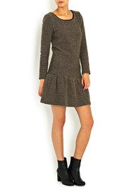 Ba&sh Jasper Drop Waist Dress - Chamois