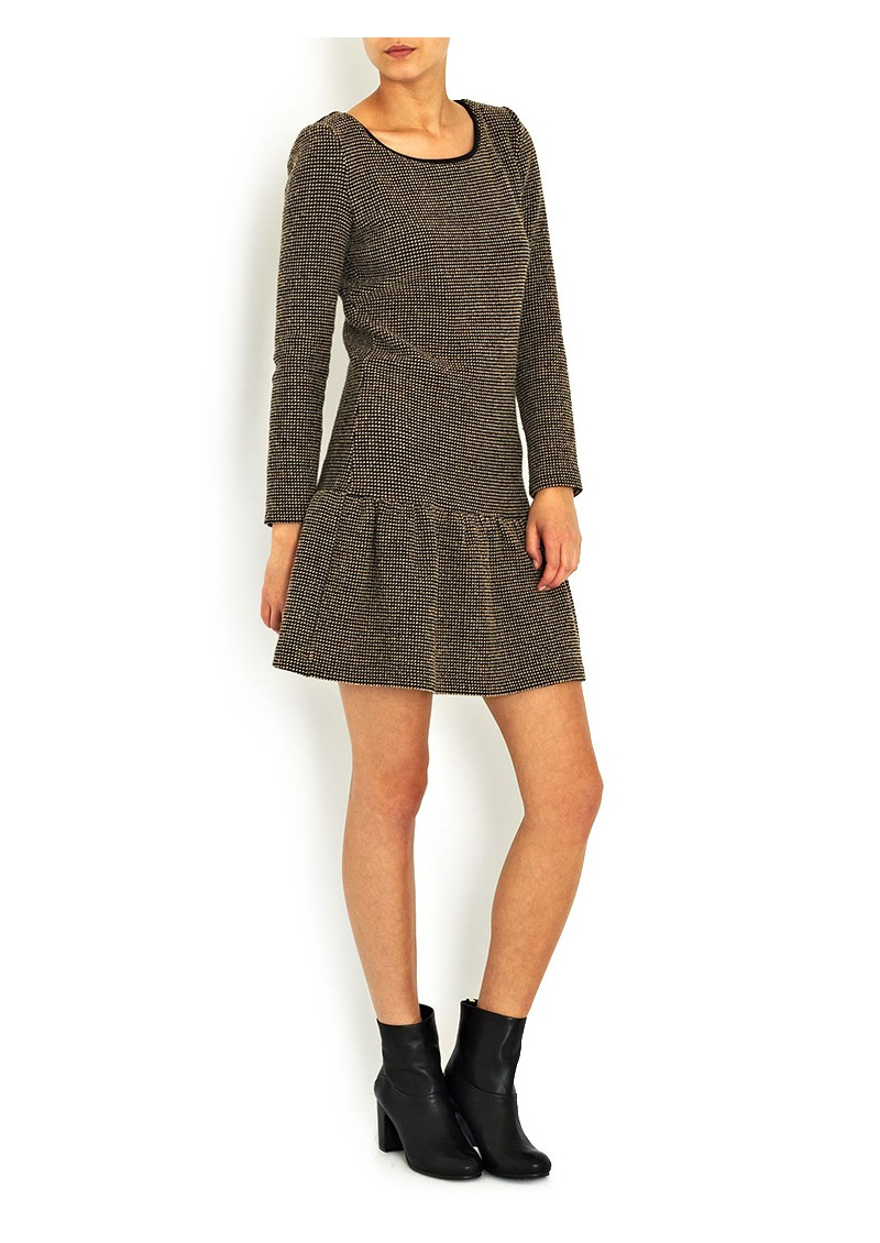 Jasper Drop Waist Dress - Chamois  main image