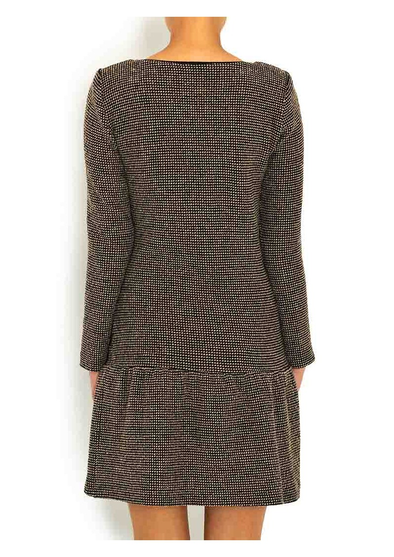 Ba&sh Jasper Drop Waist Dress - Chamois  main image