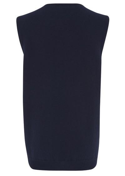 American Vintage Ipswich Wool Zip Gilet - Navy main image