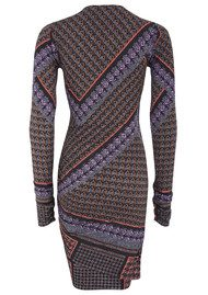 Hale Bob Paola Wrap Dress - Purple