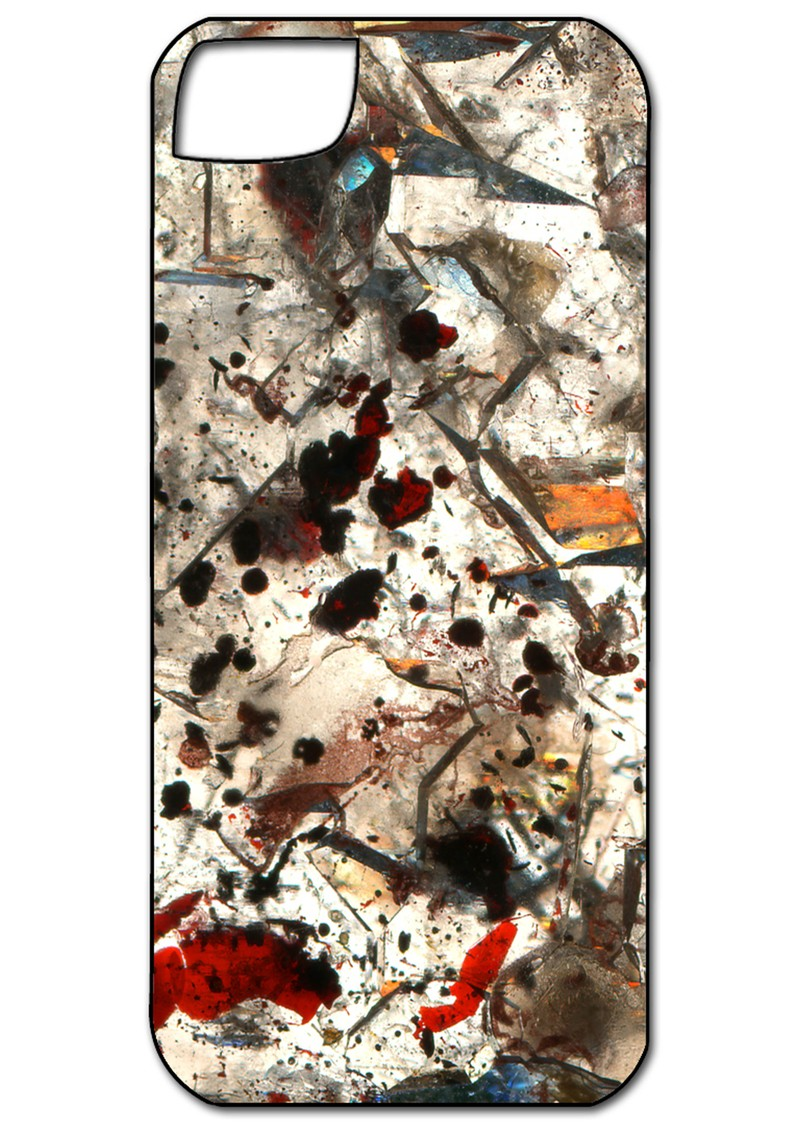 Weston Scarves Iphone 5 Case - Elestial Quartz main image