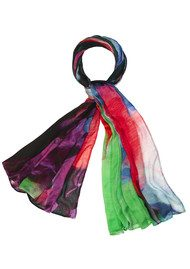 Weston Scarves Strizzate Modal Mix Scarf - Sarca