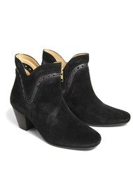H By Hudson Rodin Ankle Boots - Black