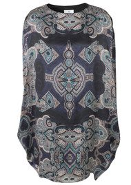 Day Birger et Mikkelsen  Paragon Silk Print Dress - Pure Purple